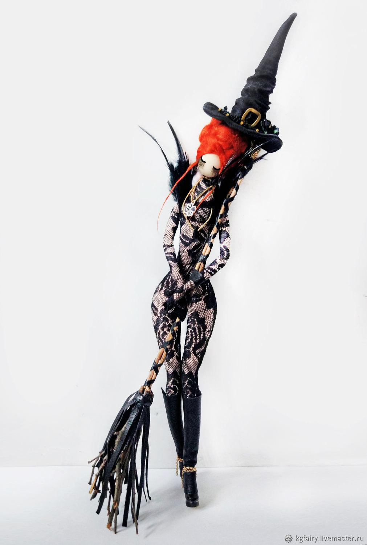 Авторская кукла. Ведьма Девон, Интерьерная кукла, Москва,  Фото №1
