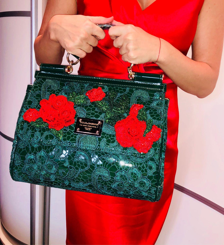 Сумка «Розы» в стиле Дольче Габбана, Классическая сумка, Москва,  Фото №1