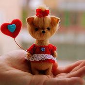 Куклы и игрушки ручной работы. Ярмарка Мастеров - ручная работа Йоркширский терьер. Handmade.