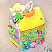 Куклы и игрушки ручной работы. Ярмарка Мастеров - ручная работа Большой кукольный домик сумочка для Феи. Handmade.