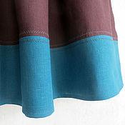 Одежда ручной работы. Ярмарка Мастеров - ручная работа Юбка из льна (в наличии 44-46 р-р). Handmade.