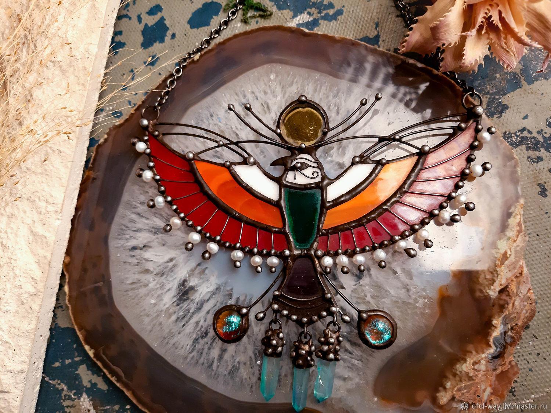 Bird Mountain Pendant (P-113), Necklace, St. Petersburg,  Фото №1