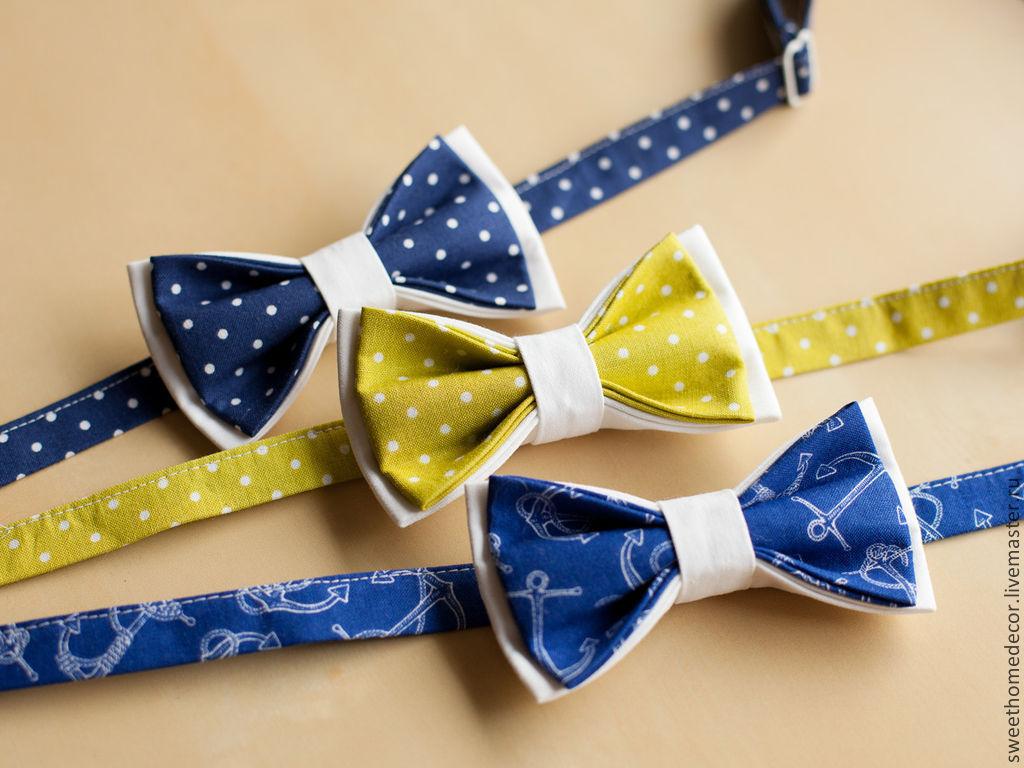Как сшить галстук-бабочку: мастер-класс А. Корфиати 95