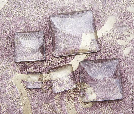 Молд линзы квадрат для кабошона