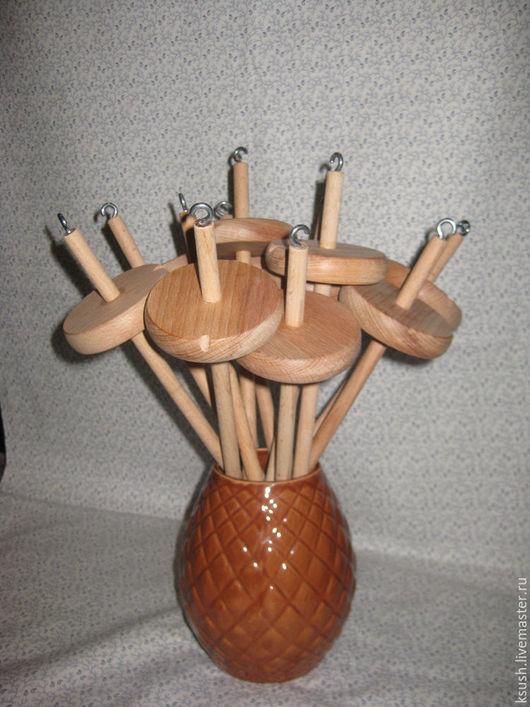 Другие виды рукоделия ручной работы. Ярмарка Мастеров - ручная работа. Купить Веретено подвесное. Handmade. Бежевый, прядение