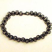 "Украшения handmade. Livemaster - original item Bracelet ""black lace"". Handmade."