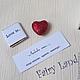 """Подарки для влюбленных ручной работы. Сладкая коробочка """"Любовь это..."""". Fairy Land (Fairy-Land-Lusy). Ярмарка Мастеров. love"""