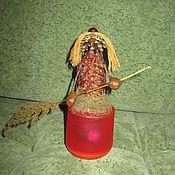 Куклы и игрушки ручной работы. Ярмарка Мастеров - ручная работа Баба Яга в светящейся ступе. Handmade.