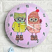 Для дома и интерьера handmade. Livemaster - original item Sowosky wall clock, clock, handmade, baby. Handmade.