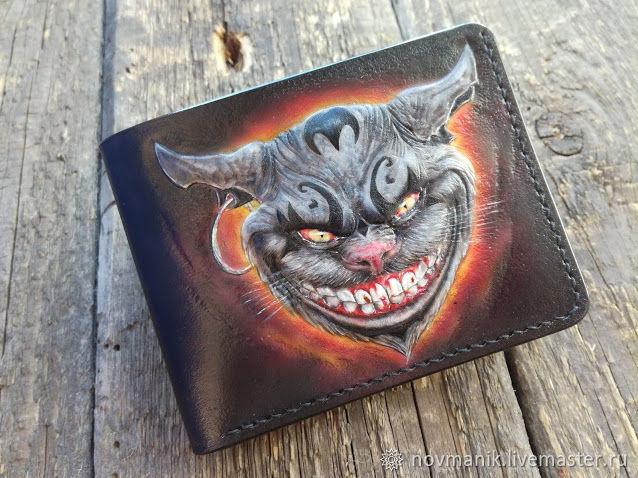 Портмоне (кошелек, бумажник) двойного сложения (Bi-fold wallet) № 42, Кошельки, Ковров,  Фото №1