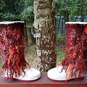 Обувь ручной работы. Ярмарка Мастеров - ручная работа Сапоги Осень. Handmade.