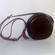 Сумки и аксессуары handmade. Livemaster - original item Bag leather Burgundy. Handmade.