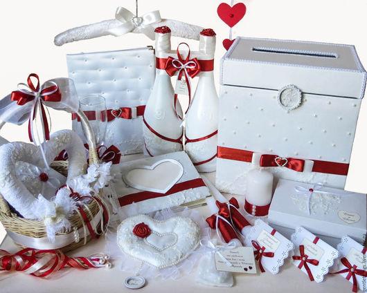 Подарки на свадьбу ручной работы. Ярмарка Мастеров - ручная работа. Купить набор свадебных аксессуаров Терракотовая свадьба в айвори. Handmade.