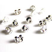 handmade. Livemaster - original item Plugs for steam earrings. Handmade.