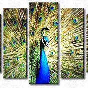 Картины и панно handmade. Livemaster - original item Beautiful polyptych (canvas,paint). Handmade.