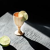 Посуда handmade. Livemaster - original item Wooden glass made of Siberian cedar wood R37. Handmade.