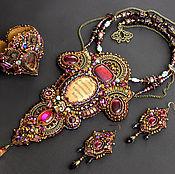 Украшения handmade. Livemaster - original item Jewelry set `Secrets of Hogwarts` - necklace, bracelet, earrings. Handmade.