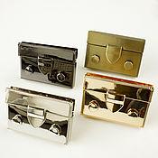 Фурнитура для сумок ручной работы. Ярмарка Мастеров - ручная работа Замок металлический (1191) для сумок. Handmade.
