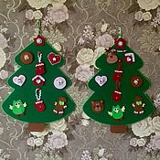Stuffed Toys handmade. Livemaster - original item Safe developing children`s Christmas tree, Christmas tree for kids. Handmade.