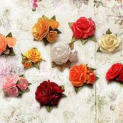"""Материалы для творчества ручной работы. Ярмарка Мастеров - ручная работа Миниатюрные цветы  для кукол и мишек """"10 роз"""". Handmade."""