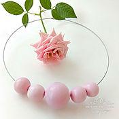 Украшения ручной работы. Ярмарка Мастеров - ручная работа Комплект Розовые шары. Handmade.