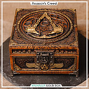 Для дома и интерьера handmade. Livemaster - original item Box: Assassins Creed Valhalla. Handmade.
