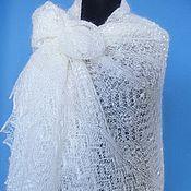 Аксессуары handmade. Livemaster - original item 156 gossamer autumn, Orenburg shawl, shawl, accessories. Handmade.