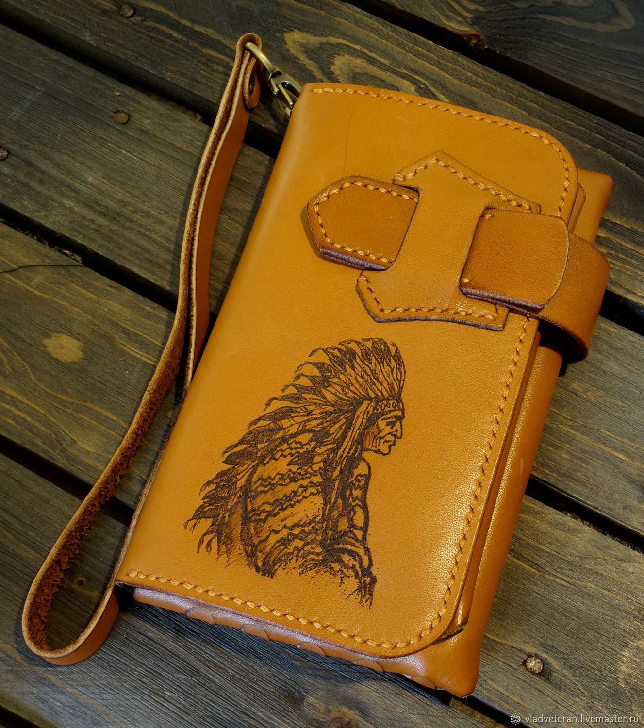 'The leader of the' Men's mini clutch, Clutches, Tolyatti,  Фото №1
