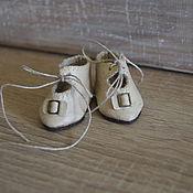 Куклы и игрушки ручной работы. Ярмарка Мастеров - ручная работа Туфли для  куклы. Handmade.