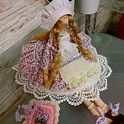 Куклы и игрушки ручной работы. Ярмарка Мастеров - ручная работа Интерьерная куколка в стиле Тильда.Лавандовая.. Handmade.