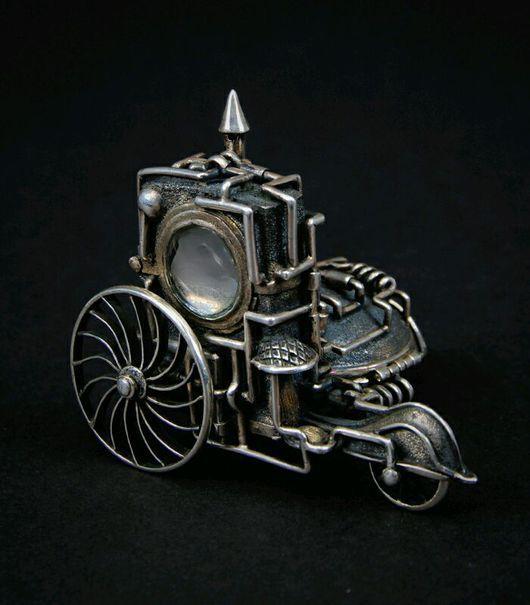 Подарки для мужчин, ручной работы. Ярмарка Мастеров - ручная работа. Купить Серебро, Зажигалка - мотоцикл ZIPPO. Handmade. Зажигалка, сувенир