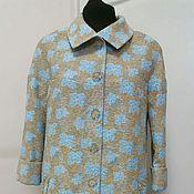 Одежда ручной работы. Ярмарка Мастеров - ручная работа 283: Летнее/весеннее пальто женское, легкое пальто. Handmade.