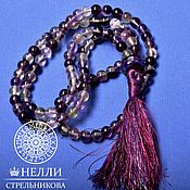 Фен-шуй и эзотерика handmade. Livemaster - original item Beads of fluorite 108 grains. Handmade.