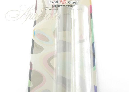 Ролик акриловый (скалка акриловая) набор из 2шт Craft&Clay (Китай)