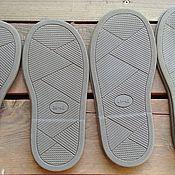 Подошвы ручной работы. Ярмарка Мастеров - ручная работа Подошва для обуви N 21050.. Handmade.