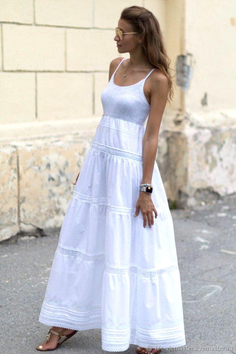 White Boho'Pure heaven', Sundresses, Altaic,  Фото №1