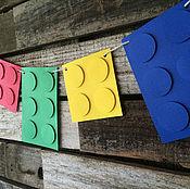 Подарки к праздникам ручной работы. Ярмарка Мастеров - ручная работа Лего. Handmade.