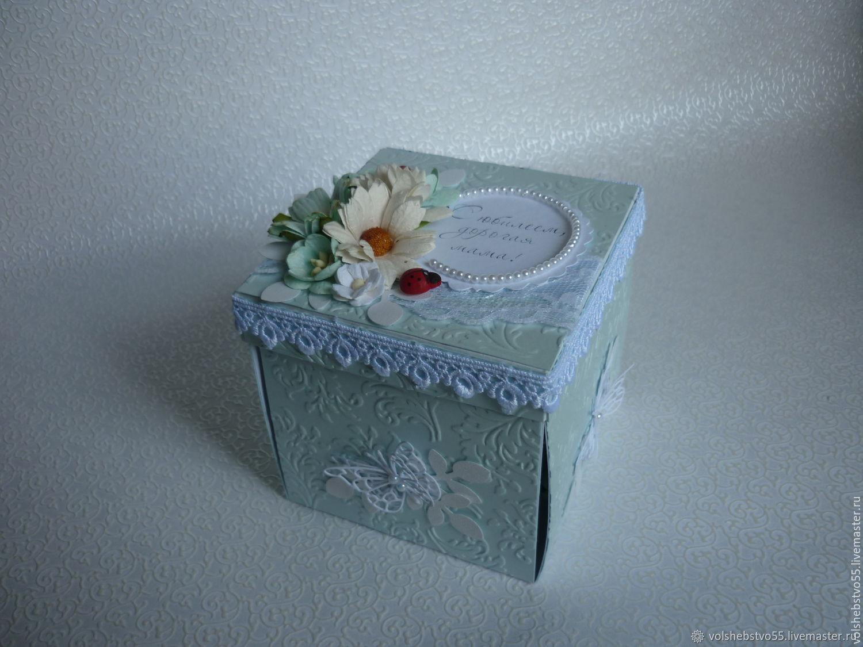 Открытка коробка для мамы, днем транспорта