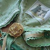 Аксессуары ручной работы. Ярмарка Мастеров - ручная работа косынка Бохо Зайкина поляна. Handmade.