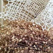 Для дома и интерьера ручной работы. Ярмарка Мастеров - ручная работа Дорожка филейная льняная из мотивов. Handmade.