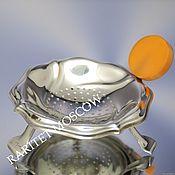 Винтаж ручной работы. Ярмарка Мастеров - ручная работа Ситечко для чая с подставкой серебрение клеймо 2. Handmade.