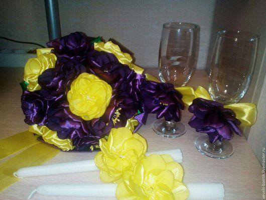 Свадебные цветы ручной работы. Ярмарка Мастеров - ручная работа. Купить Свадебные акскссуары. Handmade. Комбинированный, для свадьбы, для торжества