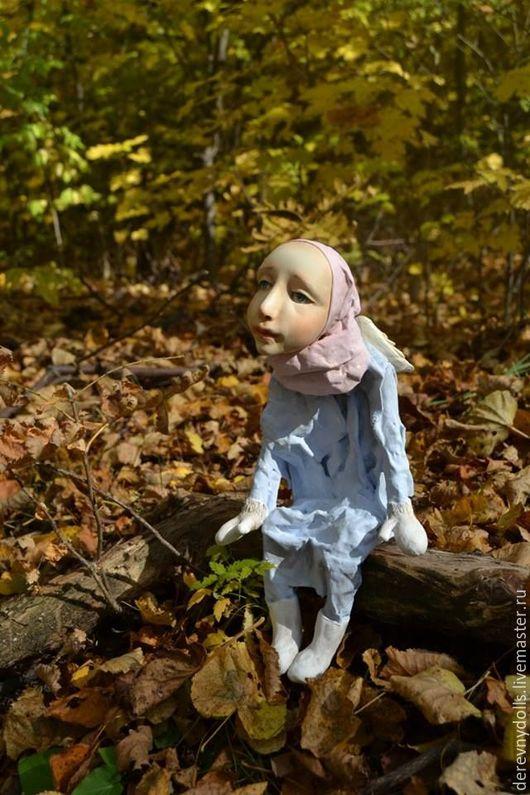 Коллекционные куклы ручной работы. Ярмарка Мастеров - ручная работа. Купить ангел. Handmade. Комбинированный, ангел, коллекционная кукла, подарок