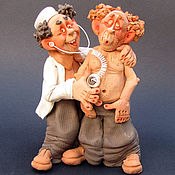 Куклы и игрушки ручной работы. Ярмарка Мастеров - ручная работа Терапевт. Handmade.