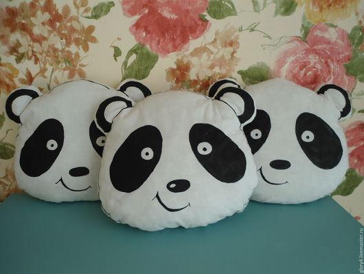 Детская ручной работы. Ярмарка Мастеров - ручная работа. Купить Панда Подушка-обнимашка Подушка-игрушка. Handmade. Для новорожденного