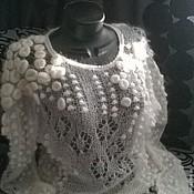 Одежда ручной работы. Ярмарка Мастеров - ручная работа Джемпер Снежная королева. Handmade.
