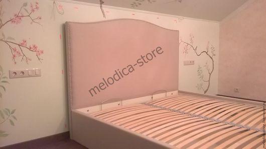 Мебель ручной работы. Ярмарка Мастеров - ручная работа. Купить Кровать Primavera. Handmade. Розовый, изголовье кровати, паралон