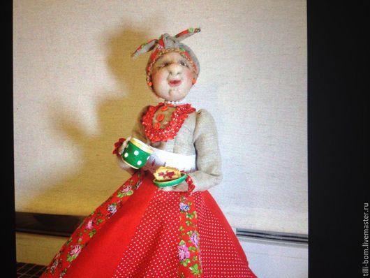 Кухня ручной работы. Ярмарка Мастеров - ручная работа. Купить Кукла на самовар. Handmade. Разноцветный, грелка на чайник, самовар