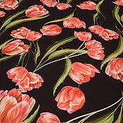 Ткани ручной работы. Ярмарка Мастеров - ручная работа Шелк Dolce&Gabbana. Handmade.