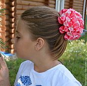 Работы для детей, ручной работы. Ярмарка Мастеров - ручная работа Бант нарядный  для волос. Handmade.